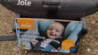 JOIE BABY I-LEVEL CAR SEAT INSTALLATION & FIRST IMPRESSIONS