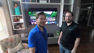 Samsung Q80R vs Q70R WHICH IS BETTER!? Real LIFE DEMO by Dreamedia