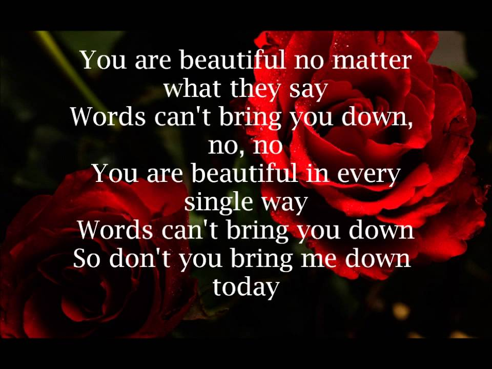 christina aguilera - beautiful текст: