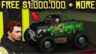 GTA Online NEW DLC - RC BANDITO RELEASED, FREE $1,000,000 & NEW RC RACES!