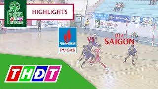 Highlights Futsal Truyền hình Đồng Tháp 2018 | Bán kết 1: Khí Cà Mau - Bia Sài Gòn sông Tiền | THDT