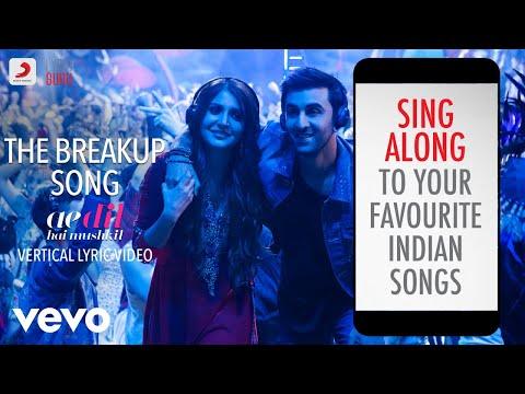 The Breakup Song - ADHM|Official Bollywood Lyrics|Arijit Singh|Badshah|Jonita Gandhi