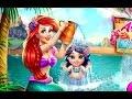 Nàng tiên cá Ariel tắm và chơi đùa cùng con gái yêu (Ariel Baby Wash)