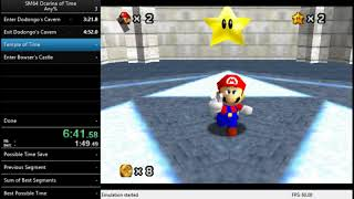 SM64 Ocarina of Time Escape% in 13:59 (Former WR)