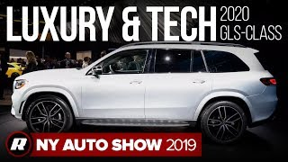 2020 Mercedes-Benz GLS-Class SUV is the latest in high-tech luxury   New York Auto Show 2019