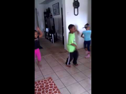 Cupid Shuffle Kids Dancing video