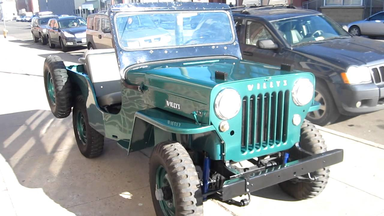 Willys Jeep For Sale >> 1953 Willys Jeep Nut and Bolt Restoration For Sale - YouTube