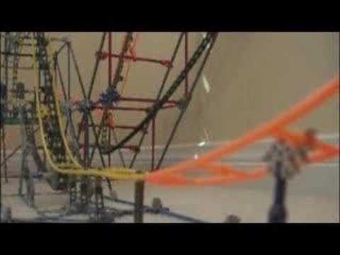 Knex Custom Corkscrew Roller Coaster