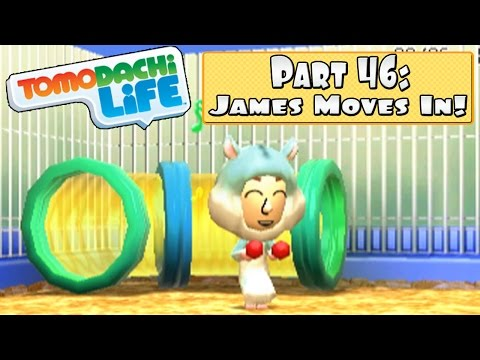 Tomodachi Life - Part 46: James Moves In + My New Pet Hamster!