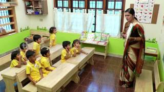 poorna classroom demonstration EVS