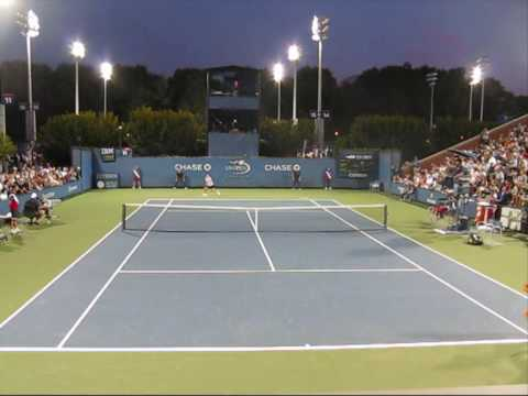 Shahar Pe'er Vs Carla Suarez Navarro (US Open 2009 2nd Round) Video