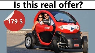 Small Scoot electric car for $179 - is it real or scam?