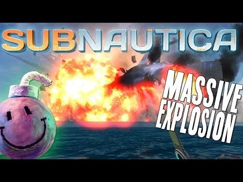 Subnautica Gameplay UPDATE Season 2 - Part 4 - HUGE EXPLOSION + DELTA MARINE DEATH!