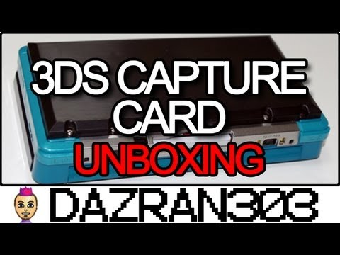 3DS Capture Card Unboxing
