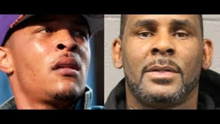 R. Kelly Cries While Denying All Charges interview and T.I. Outrage to 12 Year Old Kids UNFAIR Case