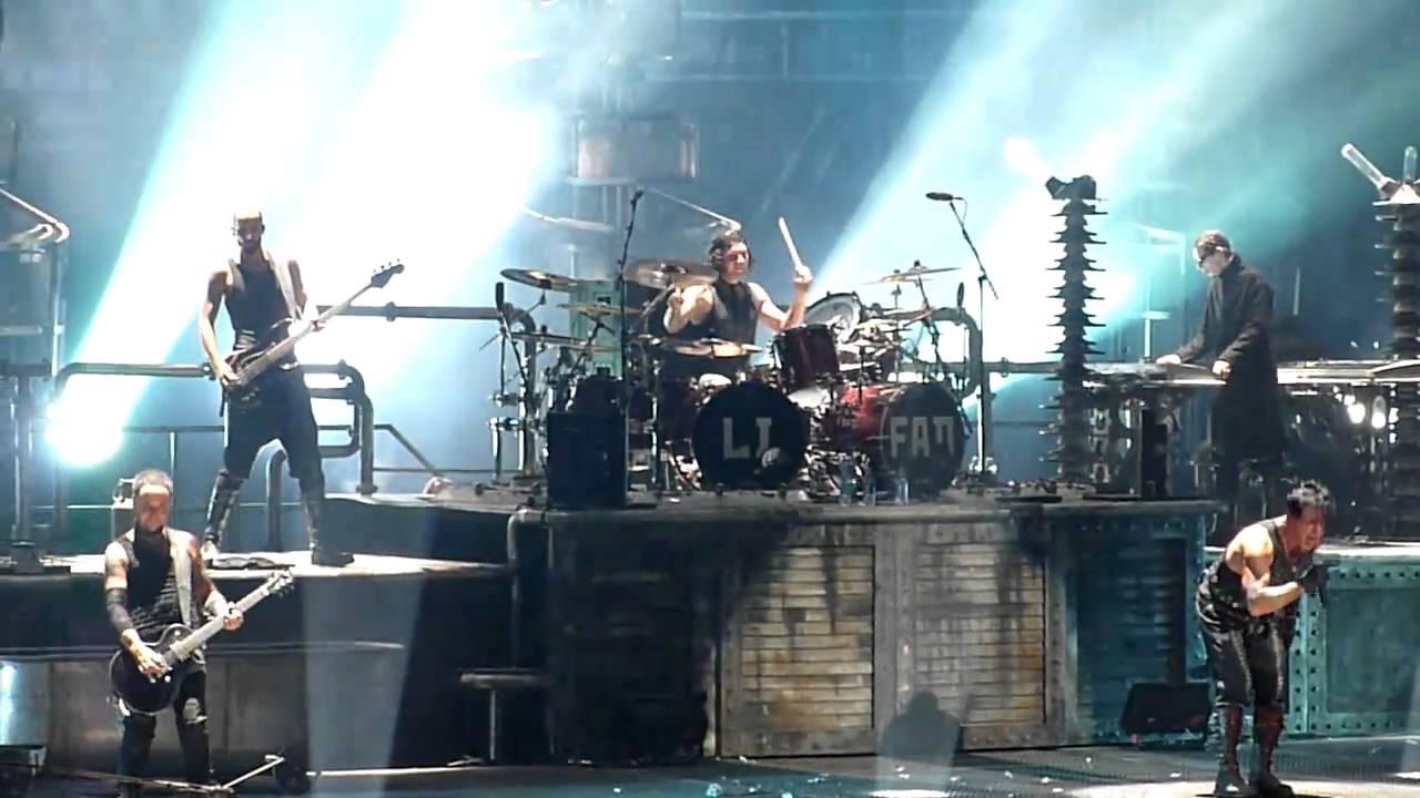 Rammstein Ich Tu Dir Weh Madison Square Garden 11 12 2010 Hd Youtube