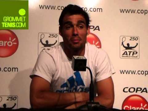 Fognini finalista del ATP Copa Claro 2014