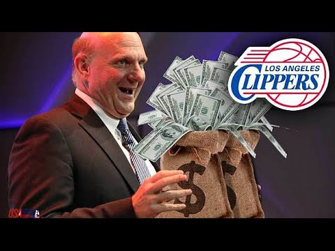 Steve Ballmer Officially Named Clippers Owner...COME ON!!!!!!