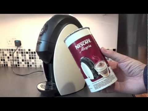A Review of the Nescafé Alegria Coffee Machine