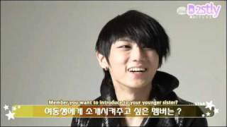 [B2STLYSUBS] 100325 THE STAR Interview - Hyunseung