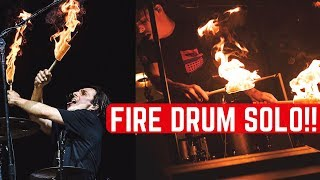 Drum Solo Live With FIRE - The Chainsmokers - Matt McGuire