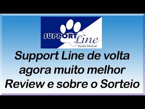 Support Line - Review - Novidades e resultado do sorteio