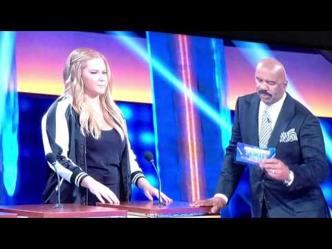Celebrity family feud Amy Schumer Kelly Clarkson