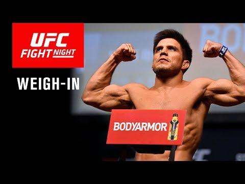 UFC Fight Night Brooklyn: Weigh-in
