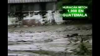 huracan mitch en Guatemala Zacapa 1998