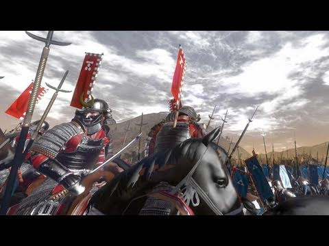 Total War Shogun 2 Custom Battle Gameplay
