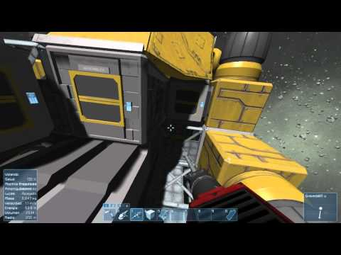 Space Engineers Ep.1   Minecraft en el Espacio? :O