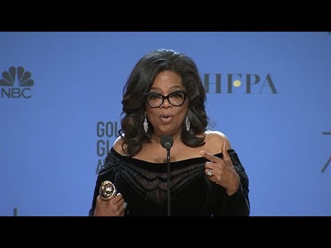 Oprah: Time's Up isn't just about Hollywood, it's about the women of the world