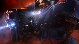 Starcraft II - Tychus Death Scene (SPOILER WARNING)