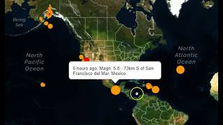Earthquake Pattern Shift to Caribbean and Atlantic Regions