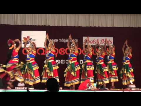 Kerala University Festival Nadodi Nritham ( Kerala Folk Dance) video