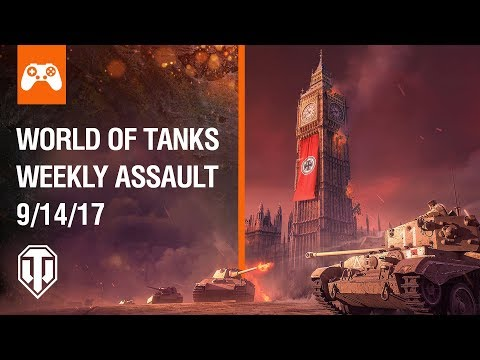 World of Tanks Weekly Assault #19