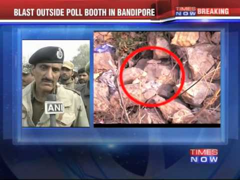 Jammu and Kashmir Polls: Blast Outside Poll Booth