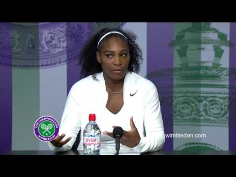Serena Williams semi-final press conference