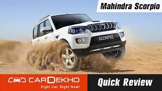 Mahindra Scorpio Quick Review | Pros, Cons and Should You Buy One?