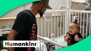 R&B superstar shows up for baby's good news