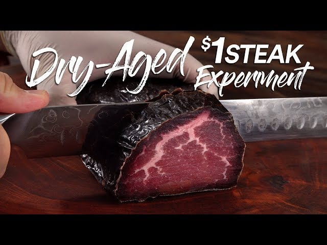Can DRY AGE save a $1 Steak?   Guga Foods thumbnail