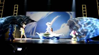 Lilo & Stitch and Little Mermaid Musical At Hong Kong Disney Land