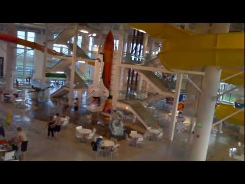 HD Evergreen Wings & Waves Water Park McMinnville Oregon Boeing 747 Aviation Museum