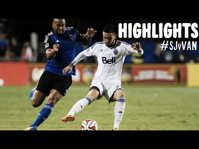 HIGHLIGHTS: San Jose Earthquakes vs. Vancouver Whitecaps FC | October 18, 2014