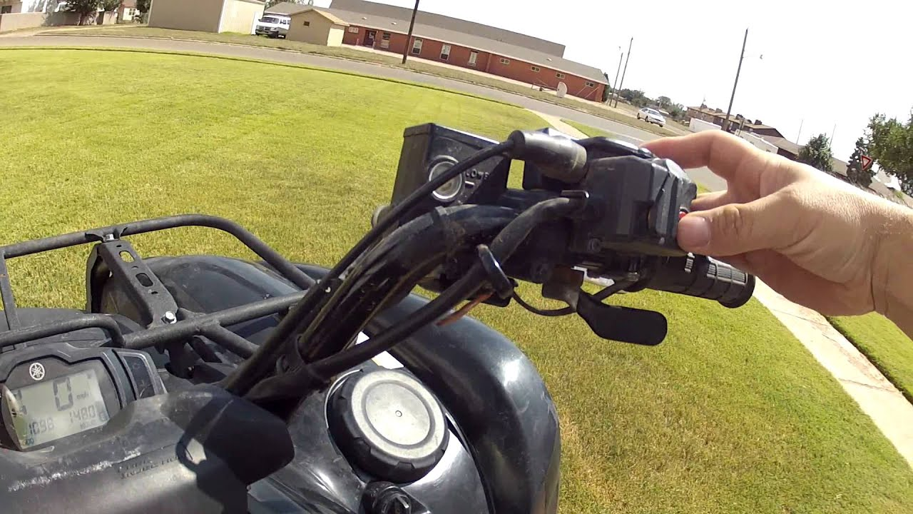 For Sale - 2009 Yamaha Grizzly 700 4x4- Vid 1 - YouTube