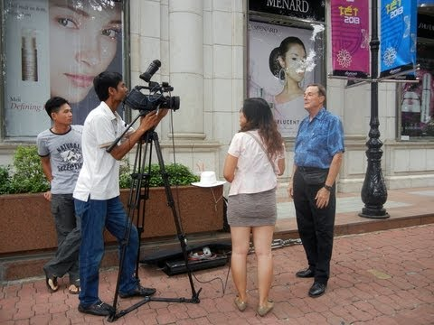 2013 01-20 HTV7 Tet Interview in HCMC Vietnam