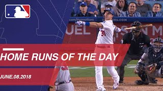 Watch all the home runs from June 8, 2018