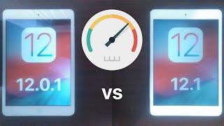 iOS 12.0.1 vs iOS 12.1 Speed Test Comparison