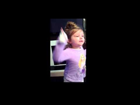 4 Year Old Baffled By Nursery Rhyme video