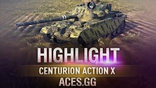 Британский дамагер. Centurion Action X  в World of Tanks!